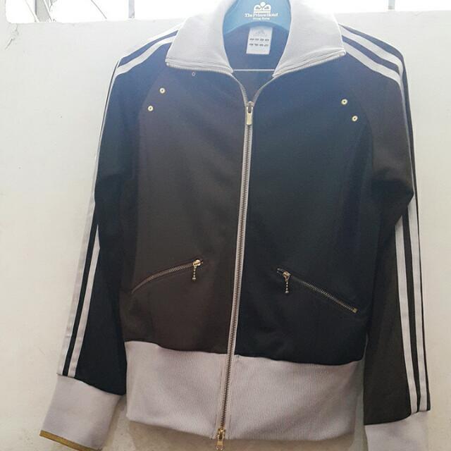 REPRICED! Adidas Brown&black Classy Jacket
