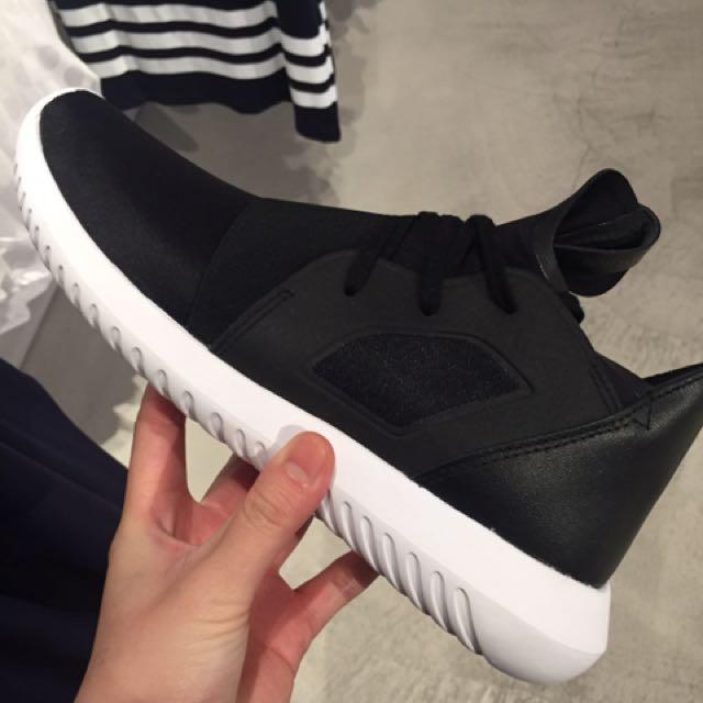 Adidas Tubular Defiant 黑 白