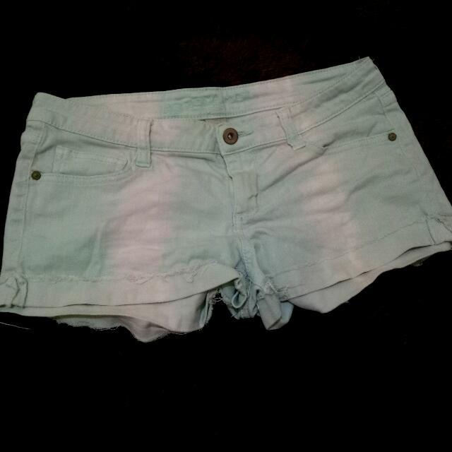 Arizona Faded Teal Shorts