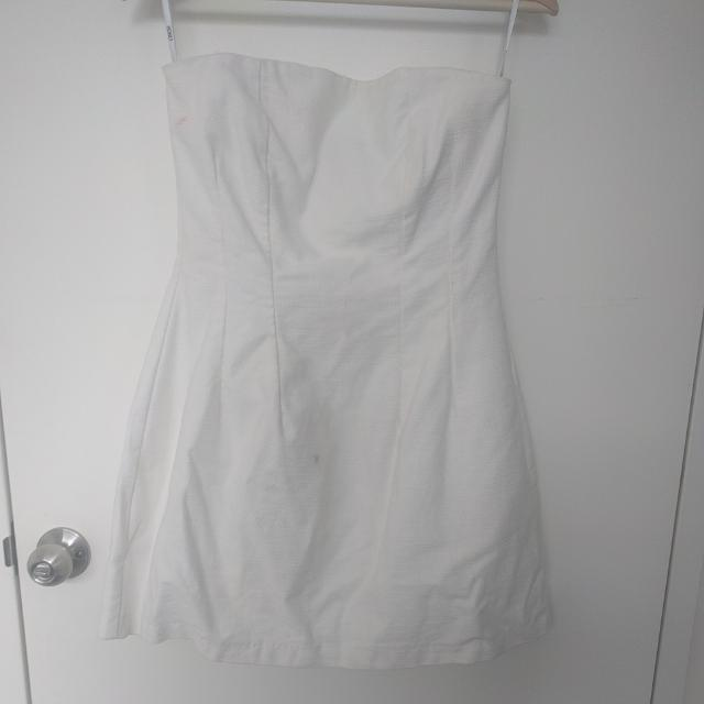 ASOS Strapless Structured Dress. UK Size 10