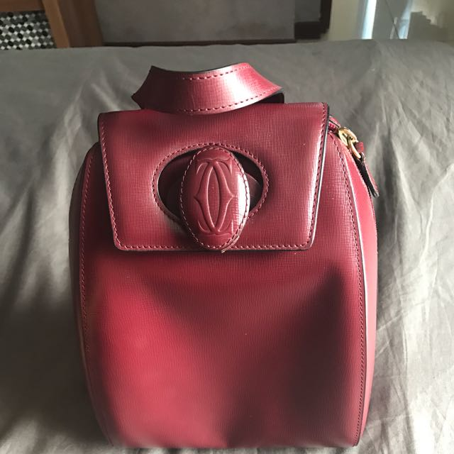 Authentic Cartier Vintage Backpack