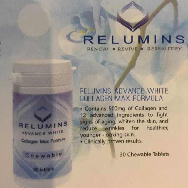 Authentic Relumins Advance White Collagen