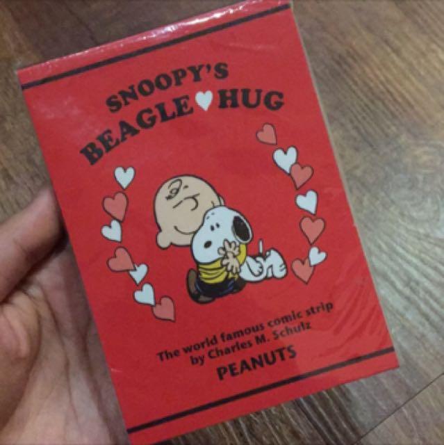 B7 Snoopy 便條紙