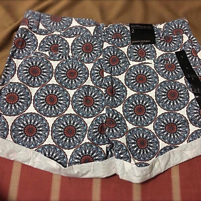 Banana Republic Floral Shorts