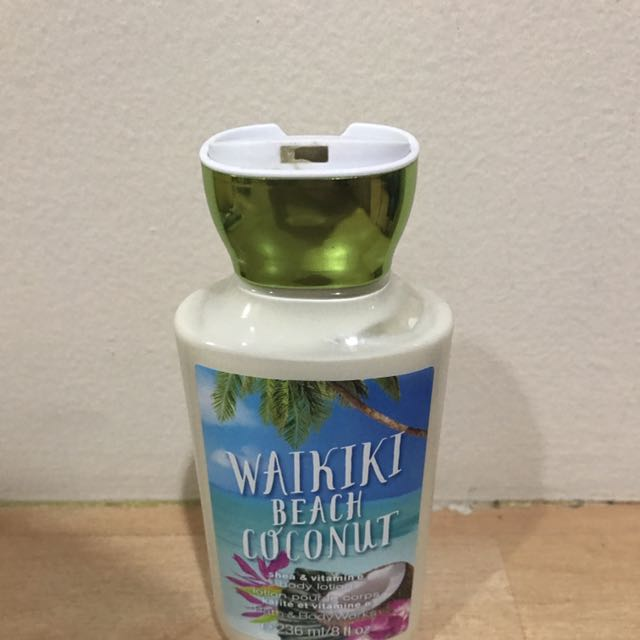 Bath Body Works Lotion Waikiki Beach Coconut Health