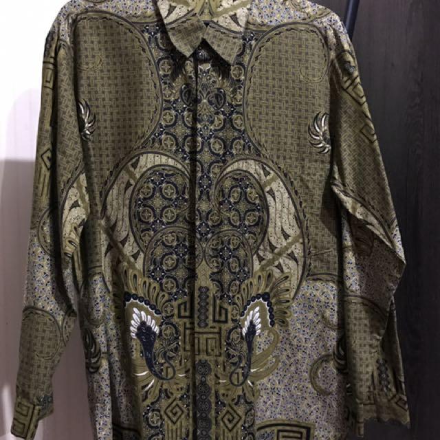 Batik Resmi Lengan Panjang