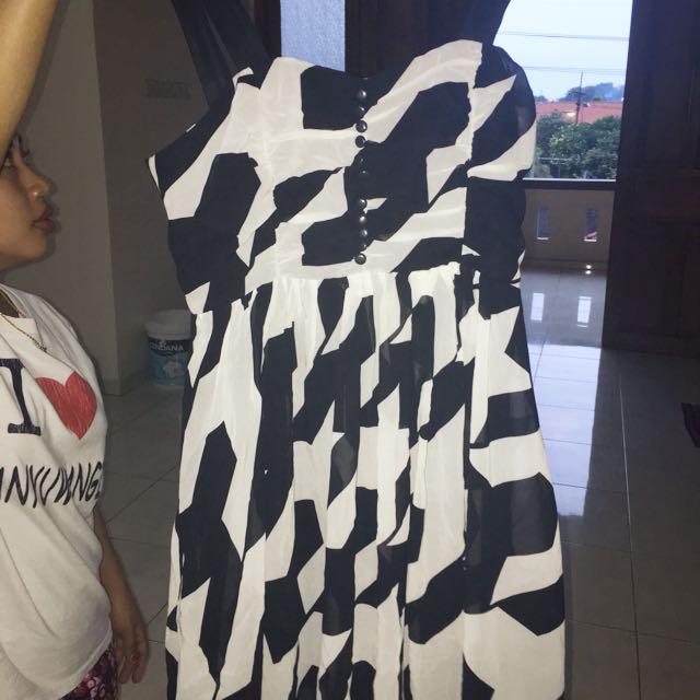 Black Mini Dress Original Forever 21