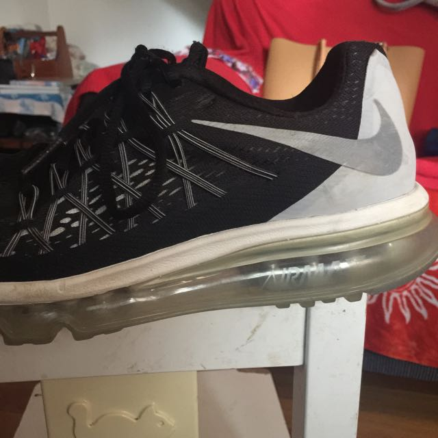 Black Nike Fly Knit Air Max