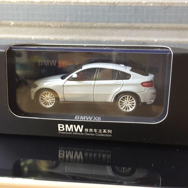 BMW X6 SUV 模型車 原廠 1:64 2012年款