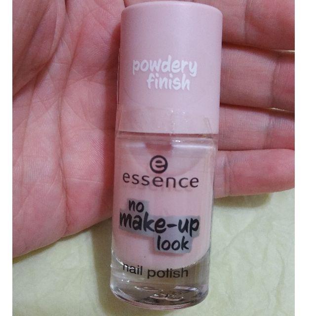 BN Essence No Make-up Look nail polish 01 Powdery Rose, Health ...