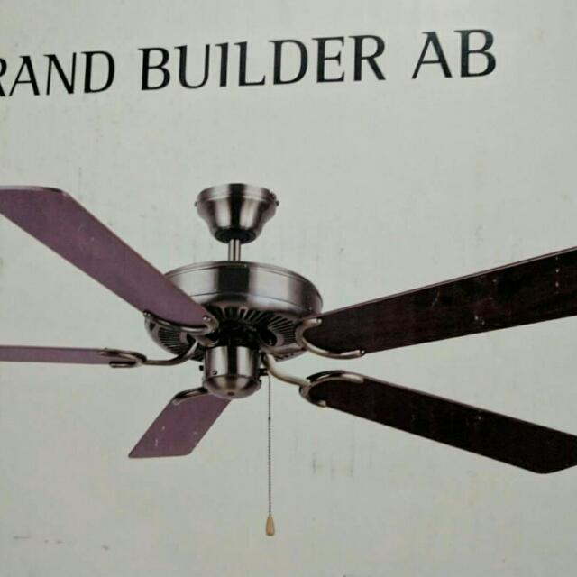 "Brand New 52"" Ceiling Fan"