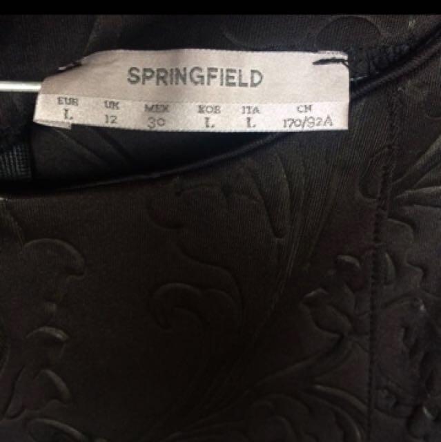[Price Down] Branded Black Dress