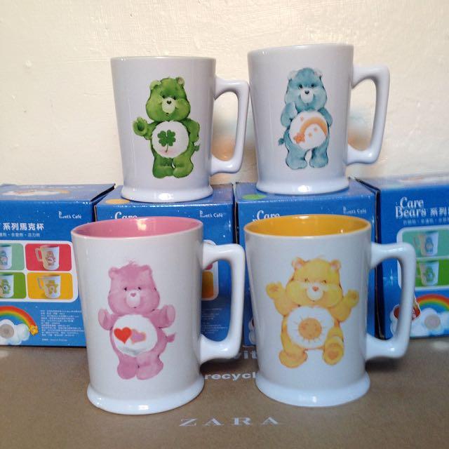 全新Care Bears 彩虹熊 馬克杯