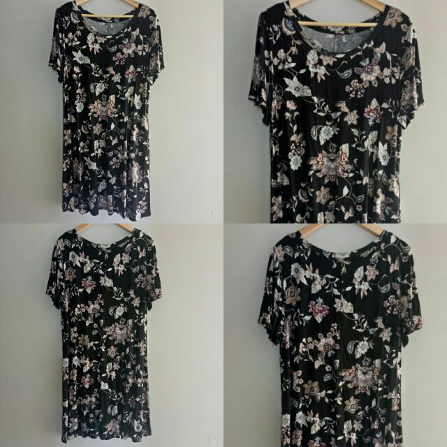 Casual Cotton Floral Dress