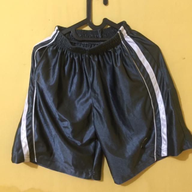celana basket grey size s
