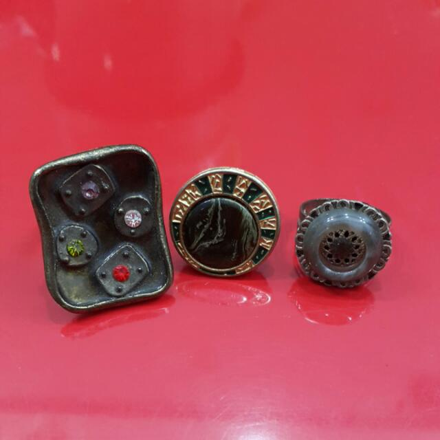 Cincin Adjustable - Mixed Ring