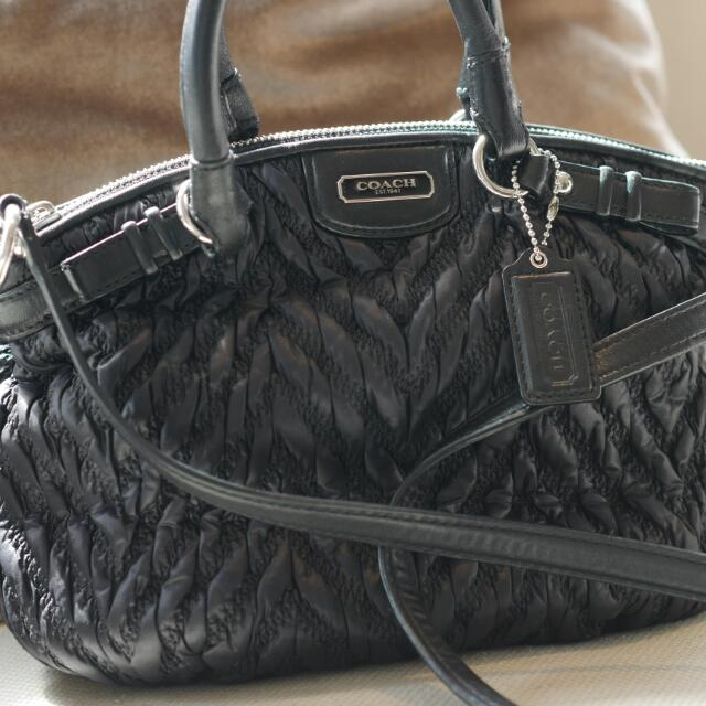 Coach Madison Small Bag In Black
