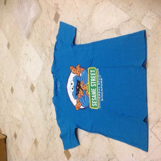 Cookie Monster Universal Studios Singapore Tshirt
