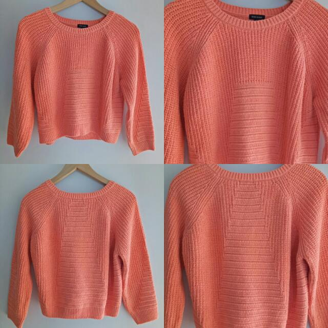 Cropped Jumper 3/4 Sleeve
