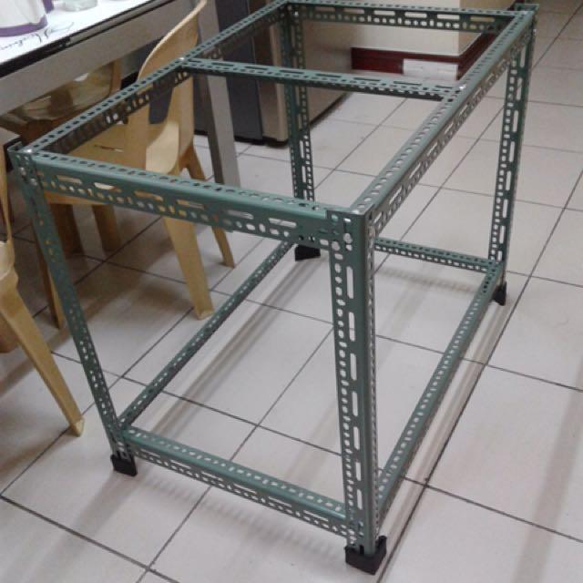 Custom made steel stand