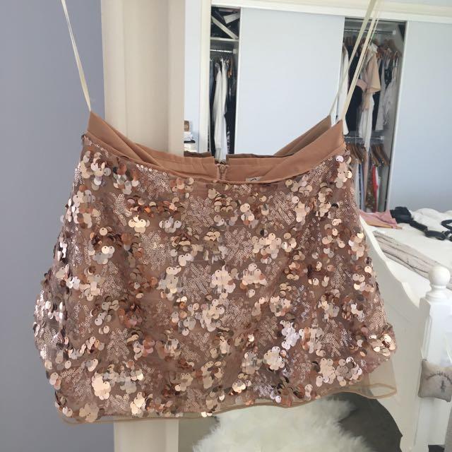 Dissh Sequin Skirt