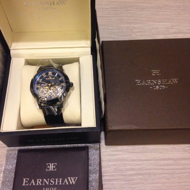 全新Earnshaw 機械錶 不適合故出售