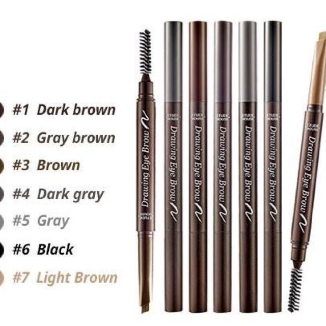 Etude House Drawing Eyebrow Pencil New