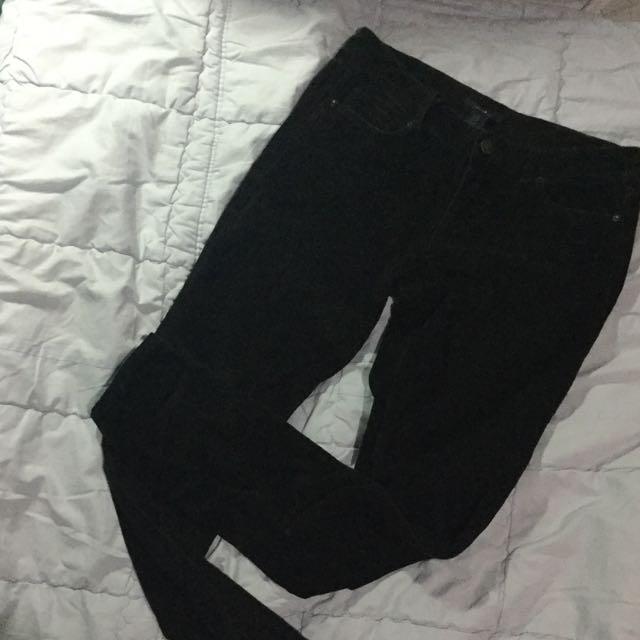 F21 Corduroy Pants