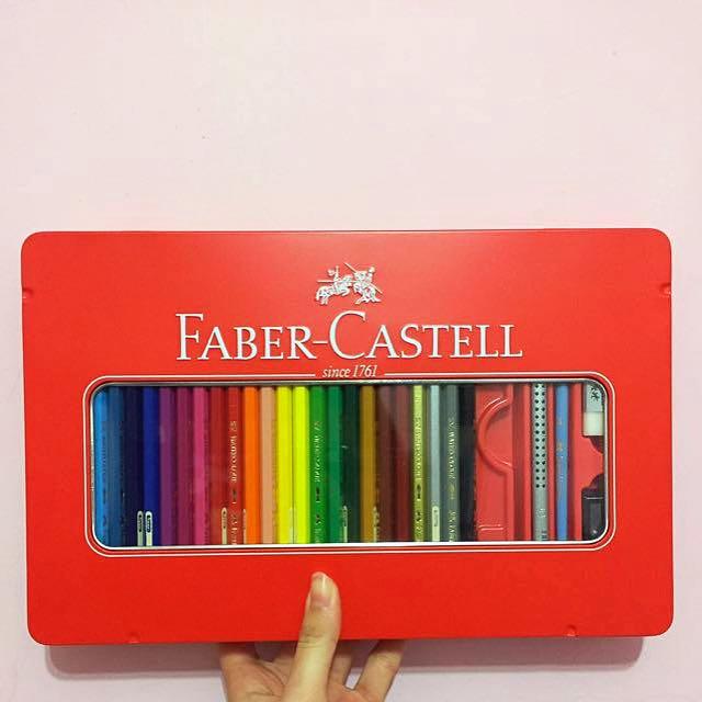 Faber Castell 輝柏 48色 色鉛筆工具組
