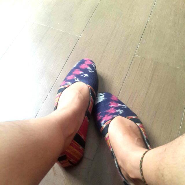 Flatshoes Etnik