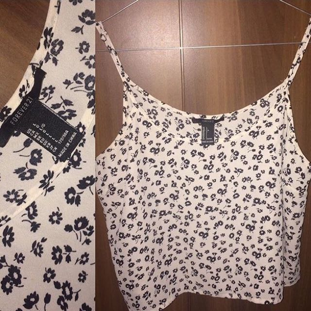 Flowers Tank Top Forever21