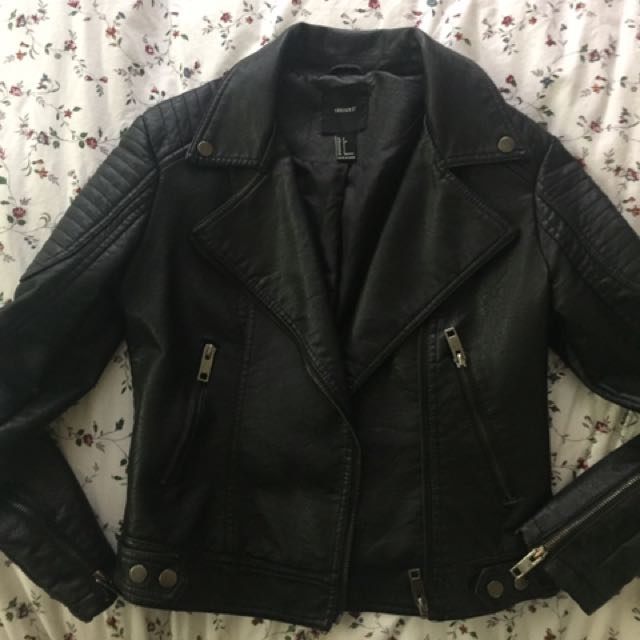 Forever 21 Vegan Leather Moto Jacket