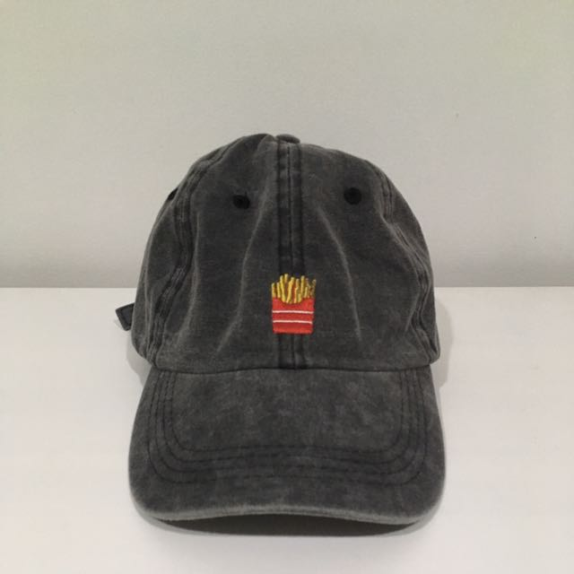 Grey French Fries Cap