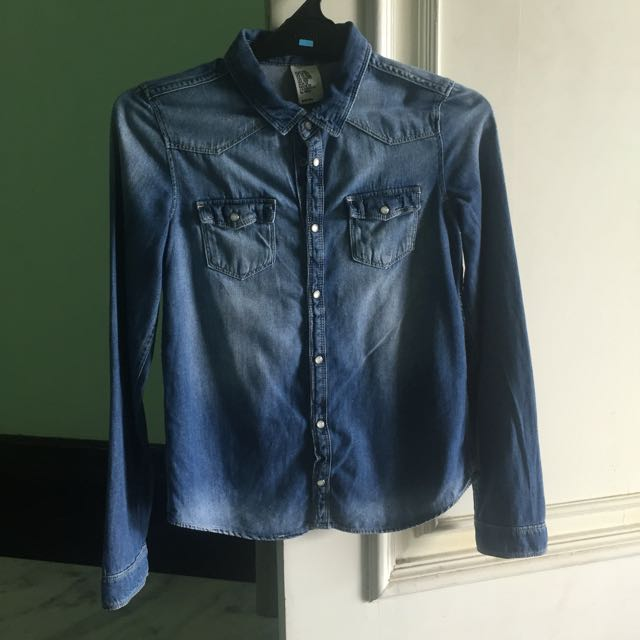 H&M Denim Shirt/Thin Jacket