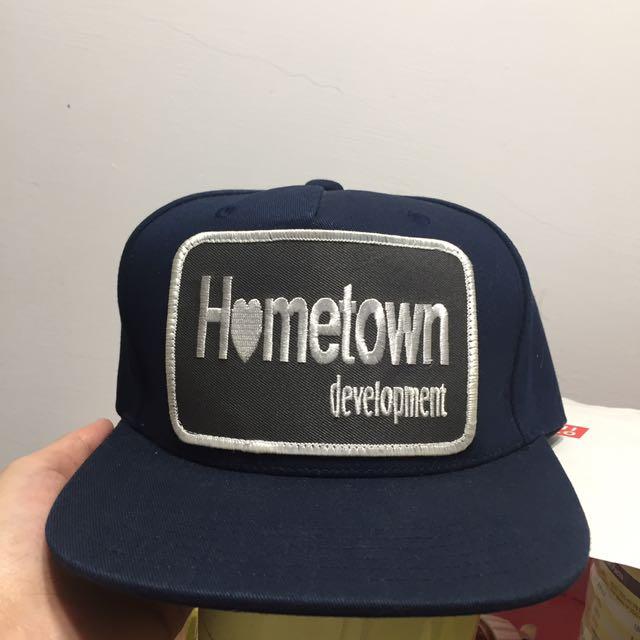 hometown 帽子 二手9.5成新