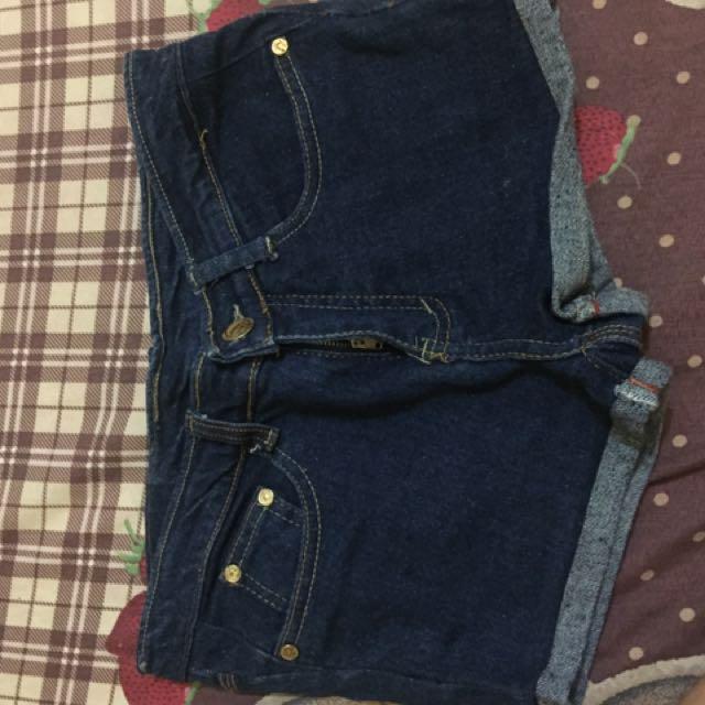 hot pants jeans blue