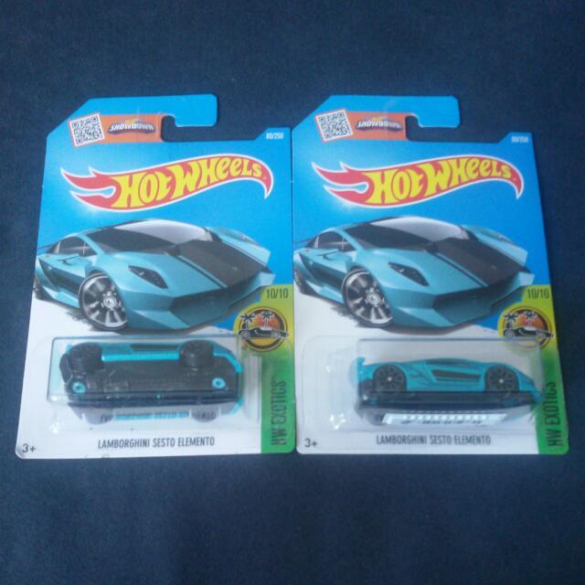 Hotwheels Lamborghini Sesto Elemento Toys Games Other Toys On