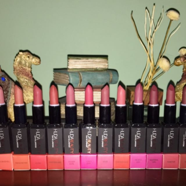 Huda Beauty Matte Lipstick In Stock Health Beauty Makeup On