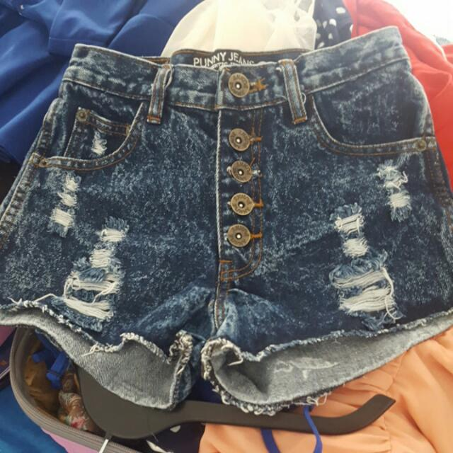 HW Jeans Hotpants