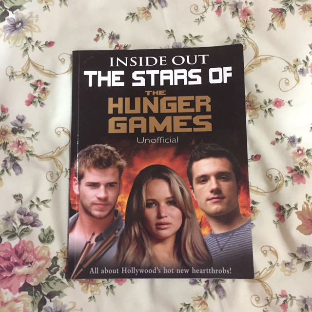 Inside Out the Stars of the Hunger Games