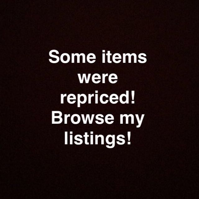 Items Were Repriced!