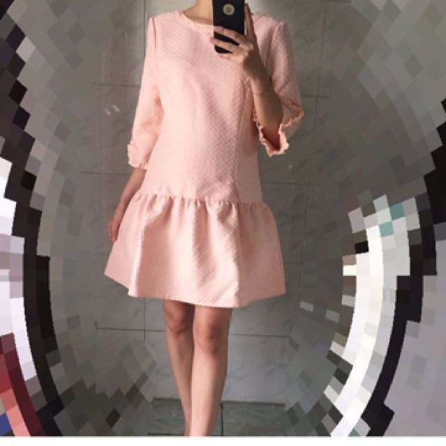 Jacquard Salem Dress
