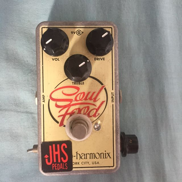 JHS modded EHX Soul Food Pedal