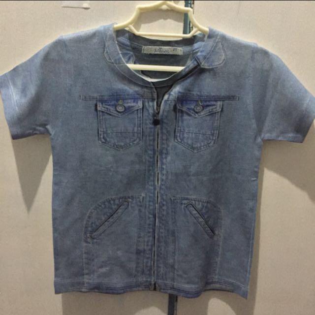 Justees Maong Designed Shirt