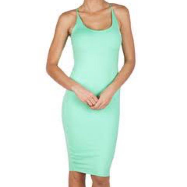 Kookai Camilla Green Dress