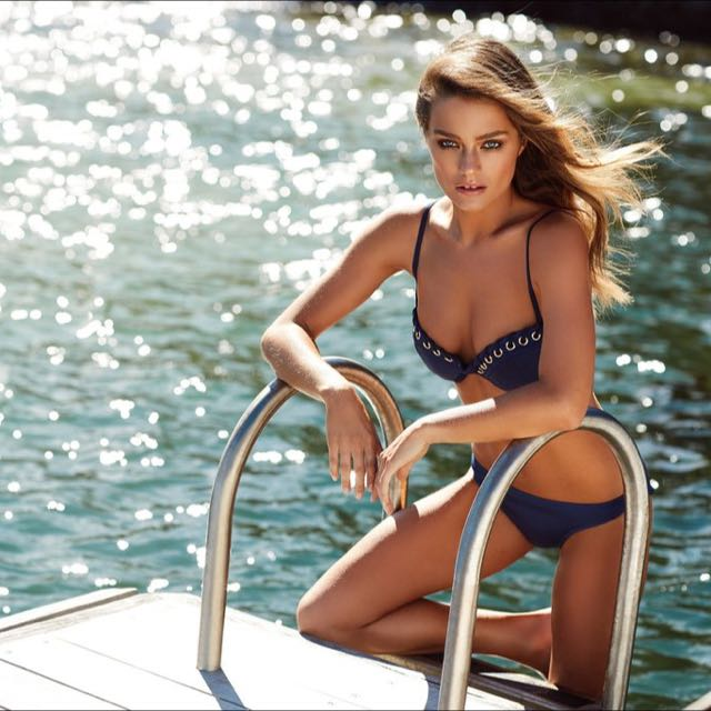 Kookai Venice Bikini Top NAVY - Size 1