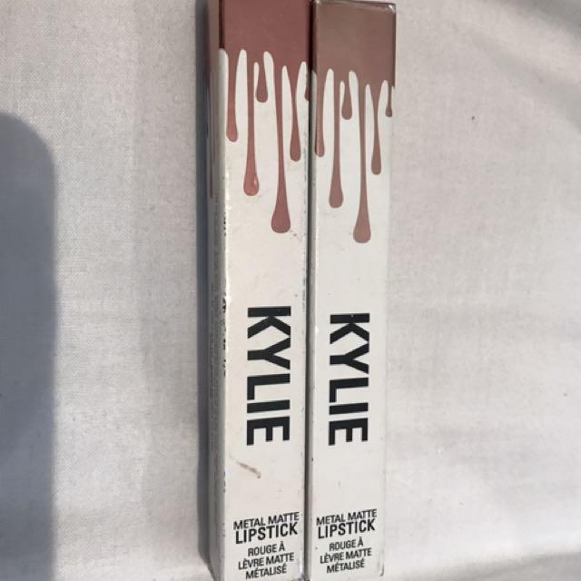 KYLIE JENNER metal Matte Lipsticks