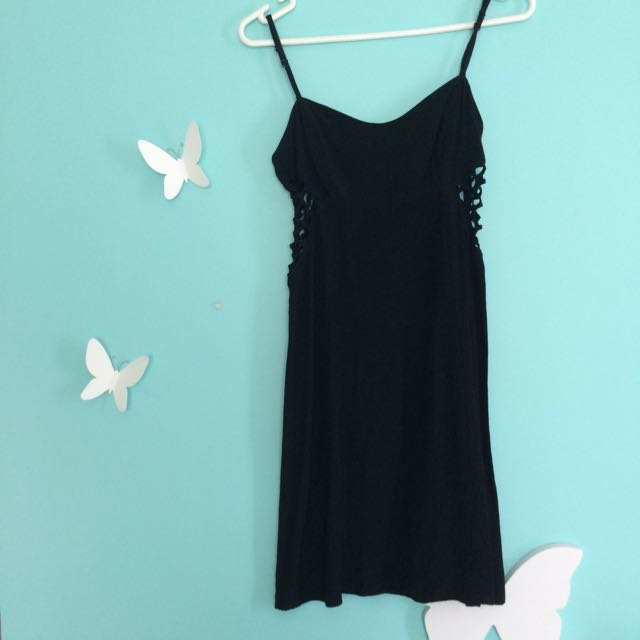 MOOCHI little black dress - size 10