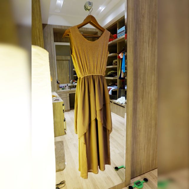 Long Dress Cream