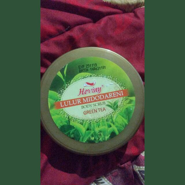 Lulur Midodaereni  Green Tea